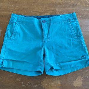 "Kavu Avalon Outdoor Shorts 4"" Inseam Sz 10"